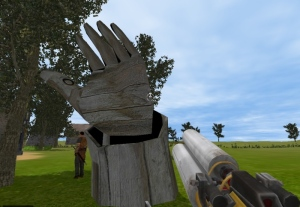 A wooden giant?